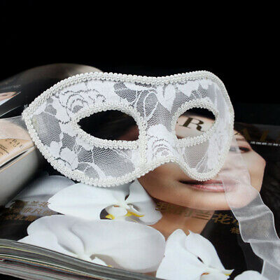 Disco Club Bar Tanzen Party Unisex Maske Halb Gesicht Augen-Maske Lace Mask