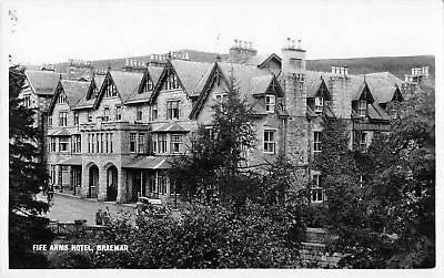 uk11933 fife arms hotel braemar from se  scotland  real photo uk