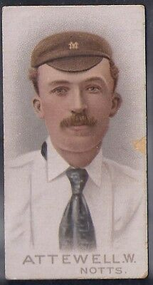 Wills-Cricket Cricketers 1896- Nottingham - Attewell