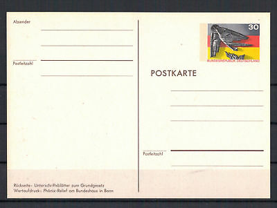 """Frg, Stationery Pso 4 """" 25 Years Federal Republic Germany 1949 - 1974 """""""