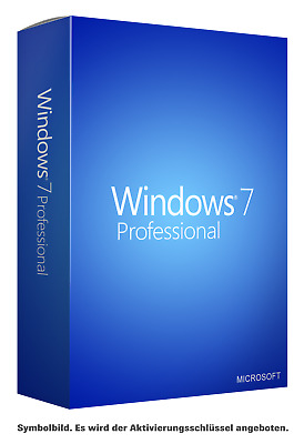 Windows 7 Professional [32 Bit & 64 Bit] ✔ KEY SOFORTVERSAND PER E-MAIL ✔