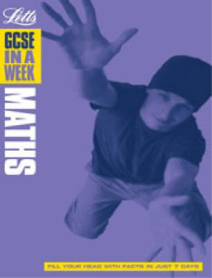 GCSE in a Week Maths (GCSE in a Week), Educational experts, Used; Good Book