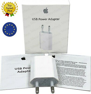Genuine fast charger Wall USB Power Adapter EU plug for Apple iPhone X 8 7 6 5