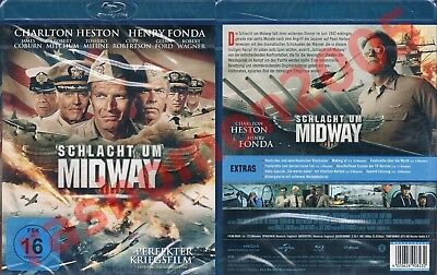 Blu-Ray BATTLE OF MIDWAY Charlton Heston Henry Fonda James Coburn Region B NEW