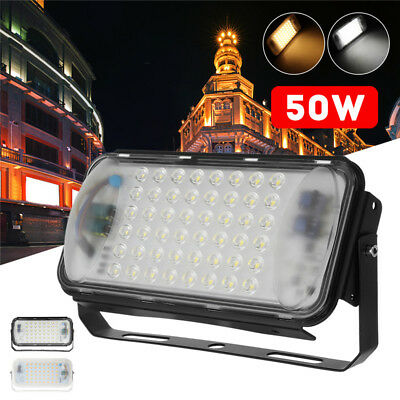 2Pcs 50W 48LED Flood Spot Light Outdoor Work Landscape Lamp For Camping AC90-260