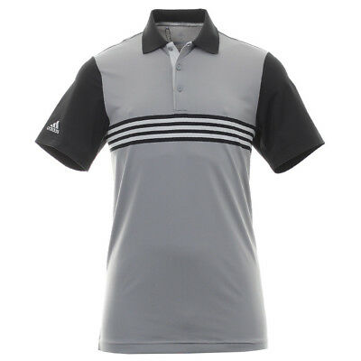 Adidas Ultimate 365 3-Stripe Engineered Mens Golf Polo, Size Options