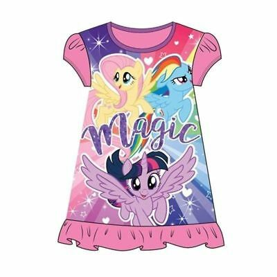 NEW My Little Pony Girls Nightie Nightdress 2 3 4 5 6 7 8 years Unicorn