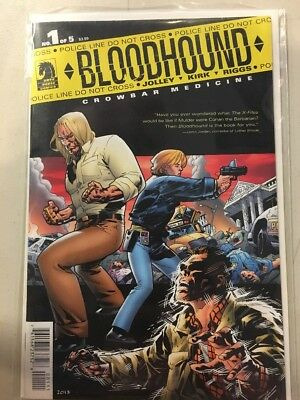 Bloodhound Crowbar Medicine #1 Dark Horse Comics VF-NM