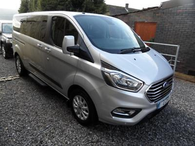 Ford Transit Custom 320 Zetec Tdci Tourneo L2 Lwb Pre Reg 2018 Model 100 Mile