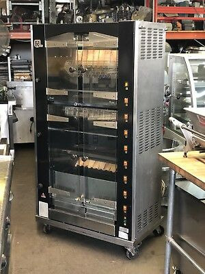 Rotisol Chicken Rotisserie 950-8 NATURAL GAS 220-240V Restaurant Equipment