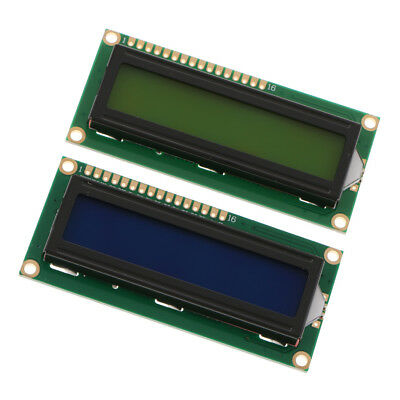 2Pcs 1602 16X2 Character LCD Backlight Module White on Blue / Green DC 5V