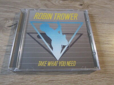 Robin Trower - Take What You Need CD
