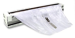 3M 06724 Plastic Car Cover Sheeting 16' X 400' Roll (3M-6724)