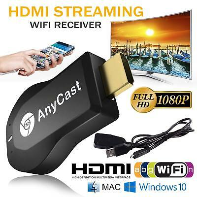 AnyCast M2 Plus WiFi Display Dongle Receiver Airplay Miracast HD 1080P T3Y4F