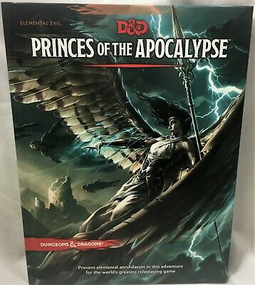 Dungeons & Dragons 5th Ed Princes of the Apocalypse d20 Adventure LVL 1-15 HC