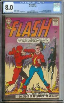 Flash #137 Cgc 8.0 Cr/ow Pages