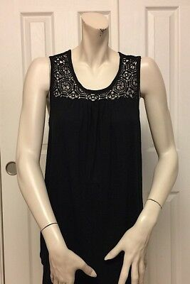 95a1c802b2496 Liz Lange Maternity For Target Women s Black Sleeveless Tank Top Size S