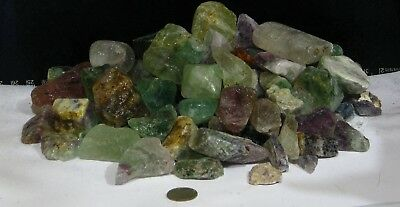3 Pound+ LOT of ROUGH FLUORITE. * Natural, NO treatments *   20-002