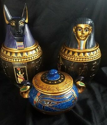 3 Summit Collection Egyptian Ceramic Bowls ~ Perfect~