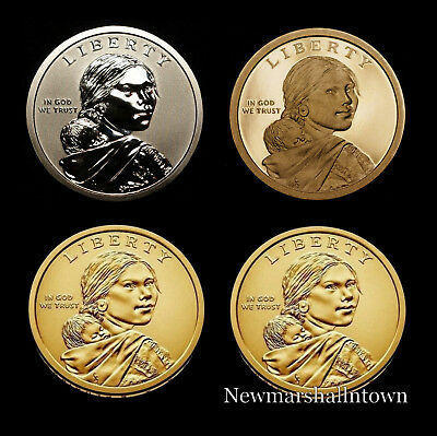 2018 P+D+S+S Native American Sacagawea Reverse Proof from Mint Proof Set