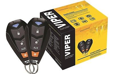 Viper 5105V 1 Way Car Alarm And Remote Start Viper Security System Keyless Entr