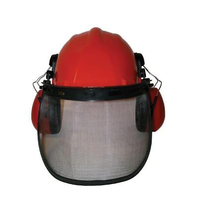 Power Care Safety Helmet Gear Chainsaw Hard Hat Eye Ear Guard Adjustable