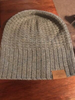Patron Tequila Logo Gray Warm Beanie One Size Fits Most Really Nice Hat
