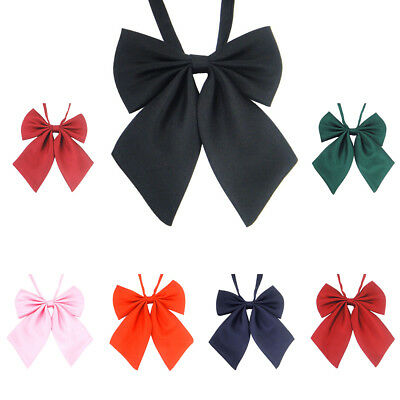 Adjustable School Girl Uniform Bow Tie Students Bowknot Necktie Cute For Cosplay
