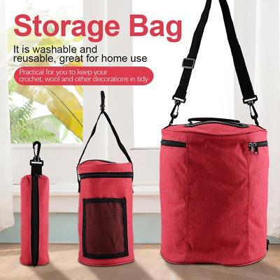 Portable Yarn Wool DIY Storage Bags Knitting Crochet Needle Craft Holder Case