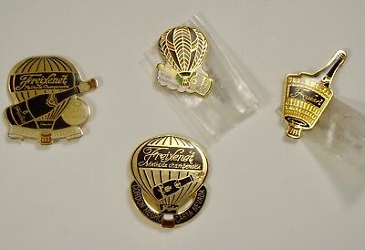 Vintage Hot Air Balloon Pins Freixenet Champagne Lot #27