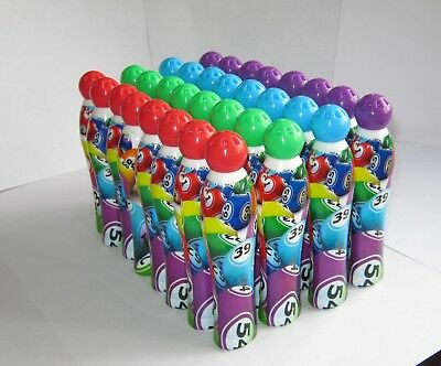 32 Mixed Bingo Dabbers, 8 each of Red Green Blue and Purple, 35 ml