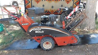 2008 Ditchwitch 1030 Walk Behind Trencher Excellent...SACRAFICE!