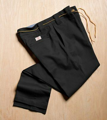 Expedition One Skateboards Chino Pants Hose Drifter Black Stretch in 32