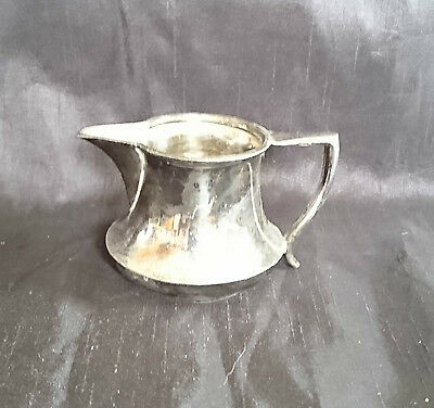 *TRADITIONAL ANTIQUE Silver Plated EPNS Small CREAM JUG 5cm*