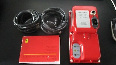 Ferrari Battery Charger Oem Original Genuine Like New Condition