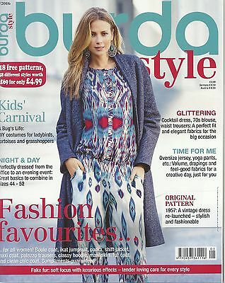 Burda Style Magazine 01/2016 -  58 Patterns & Kids Carnival, Cocktail dress, 70s