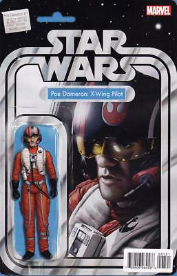 Star Wars Poe Dameron #1 Action Figure Variant Cover John Tyler Christopher
