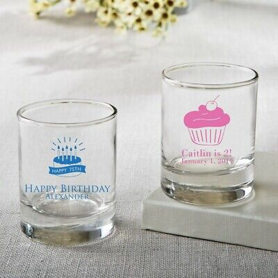 100 Personalized Shot Glasses Birthday Party Baby Shower Wedding Favors