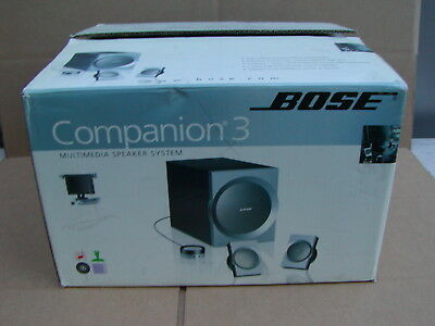 Bose Companion 3 Series I Multimedia Computer Speaker System USED - IN BOX