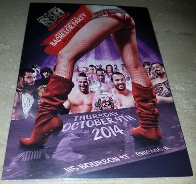 Mike Bennett's Bachelor Party DVD ROH Ring of Honor 2014 Tommaso Ciampa Cole