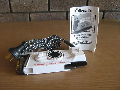 Breville Travel Spray Duel Voltage Model No Tls4 Never Used