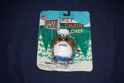 Vintage South Park Key Chain Chef 1998 Comedy Central