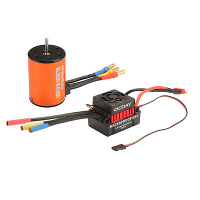 BL3650 3900KV / 4300KV Brushless Motor with 60A ESC Combo for 1/10 RC Car Truck
