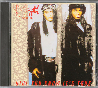 Milli Vanilli - Girl You Know It's True Cd Oop