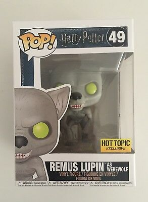 Funko Pop! Vinyl Harry Potter 49 Remus Lupin as Werewolf Hot Topic Exclusive
