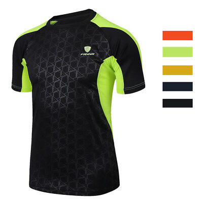 Men's Quick Dry T-Shirt Cooling All Sports Athletic Short Sleeve Tee Shirt Top