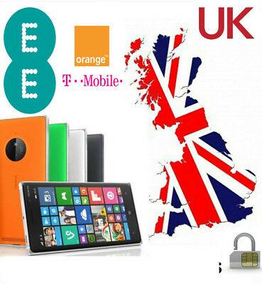 Unlock Service For Nokia Lumia All Models EE ORANGE T-MOBILE UK NETWORK