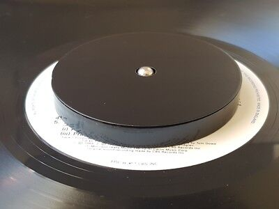 Blank / plain Carbon Steel Record turntable stabilizer weight Approx 360 grams
