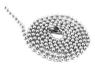 SILVER STAINLESS STEEL 27"