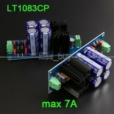 LT1083CP Linear Adjustable Voltage Buck HIFI Regulated DC Power Supply DIY Kits